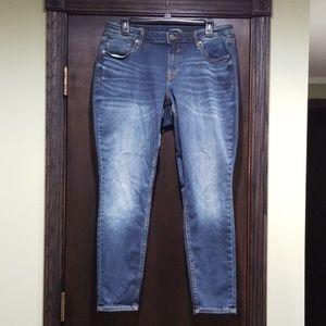Vigoss Women's Jagger Skinny Jeans Size S14, L 29